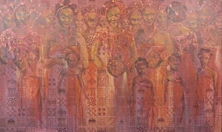 Nike Davies-Okundaye, The Igue Festival (Women), 2002