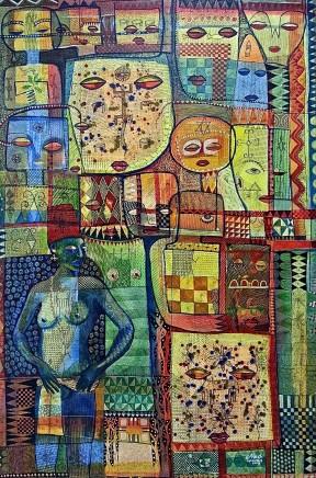 Nike Davies-Okundaye & Tola Wewe, Untitled, 2007