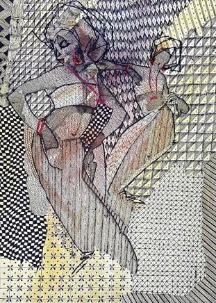 Nike Davies-Okundaye, Reggae Dance, 2000