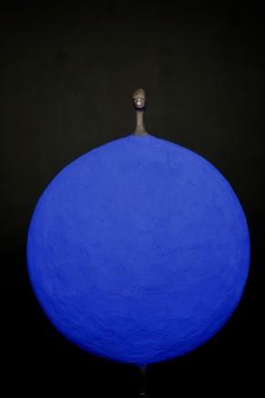 Etiyé Dimma Poulson, Blue ll, 2018