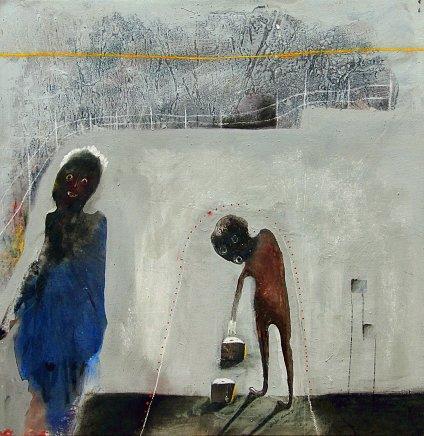 Shabu Mwangi, Yellow Line, 2013