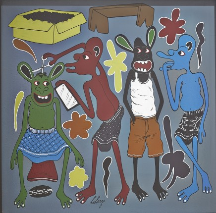 George Lilanga, Kinyozi, 1994