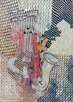 Nike Davies-Okundaye, Confluence of Music, 1999