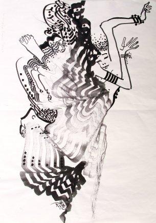 Hassan Musa, La danse, 2006