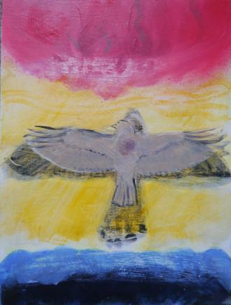 Suzy O'Mullane, Winter Hawk, 2021