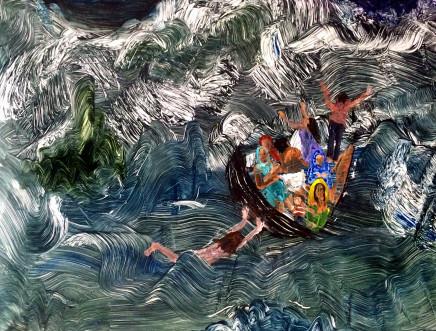 Mary DeVincentis, At Sea, 2016