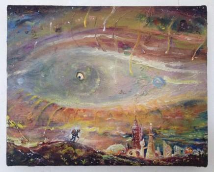 Peter Burns, Eye of the storm , 2019