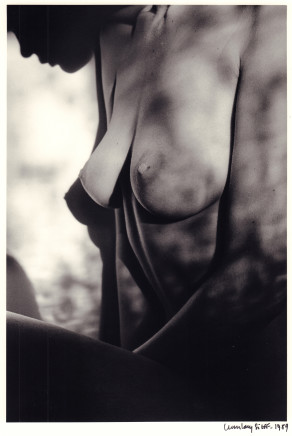 Jeanloup Sieff, Profile, Paris, 1989