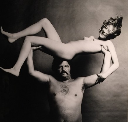 Guy Bourdin, Nude & Strongman in Joy, before 1972