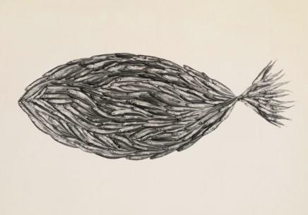 Irving Penn, Fish made of Fish, 1939