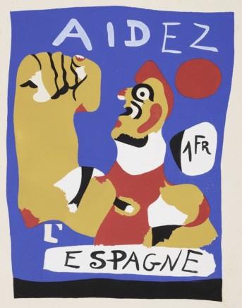 Joan Mirò, Aidez L'Espagne, 1937
