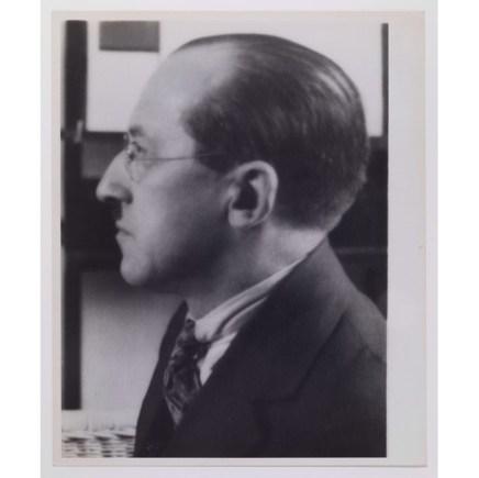 André Kertész, Piet Mondrian, New York, 1926