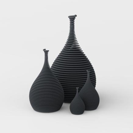 Ron Arad, 4 to Tango (Black), 2012