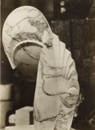 Constantin Brancusi, Mlle Pogany II, vue de profil *, 1920