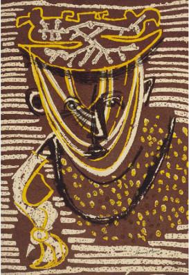 Henry Moore, Head, 1947 / 1989