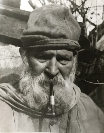 Florence Homolka, Portrait of Brancusi, 1948