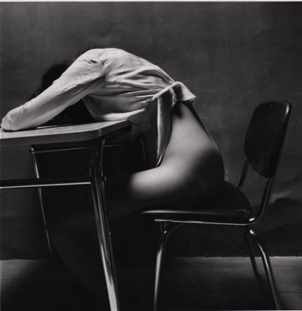Guy Bourdin, Nude Story in Dark Room (Asleep), 1971
