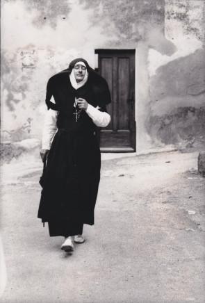 Helmut Newton, the nun