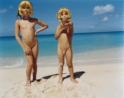 Tierney Gearon, Untitled (Naked & Hidden Children), 2000