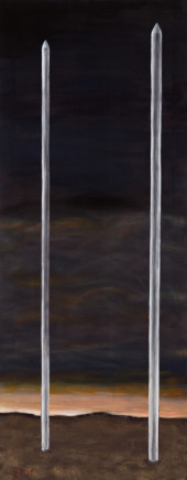 Grégoire Müller, Steel Rods, 2018