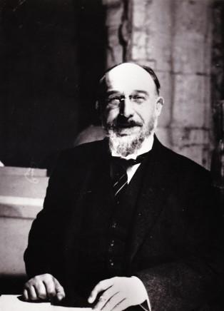 Constantin Brancusi, Portrait of Erik Satie, 1922