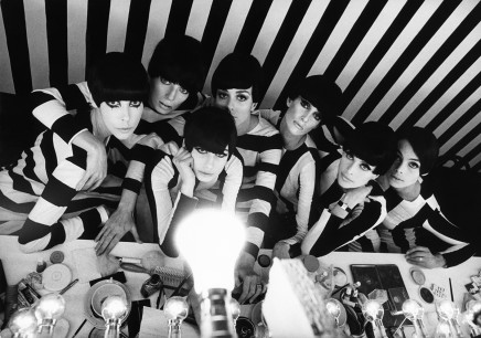 """William Klein, Backstage in """"Qui êtes-vous Polly Maggoo ?"""", 1966"""