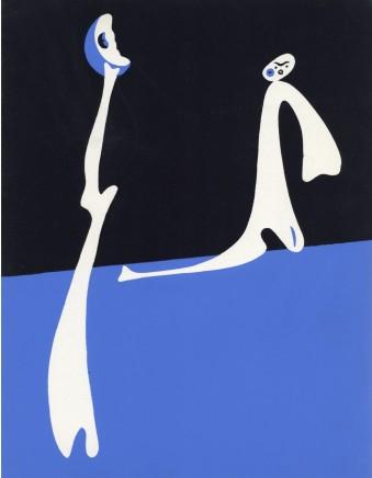 Joan Mirò, Surrealist composition , 1934