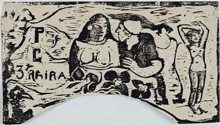 Paul Gauguin, Titre pour le Sourire, 1899-1900