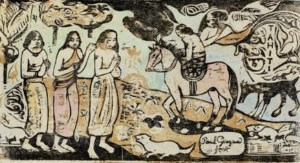 Paul Gauguin, Changement de Résidence, 1899