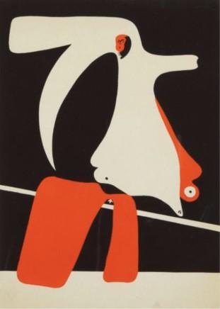 Joan Mirò, Surrealist Composition, 1934
