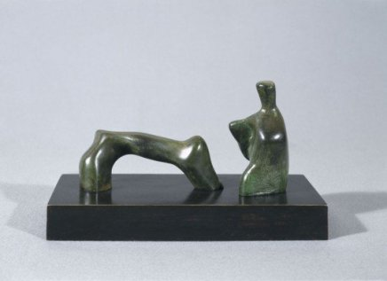 Henry Moore, Maquette for reclining figure : Arch leg, 1969