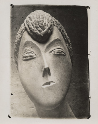 Constantin Brancusi, Baroness R.F., 1909
