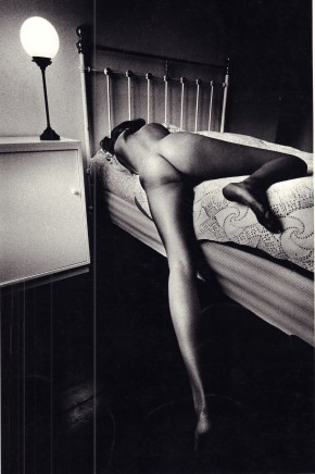 Jeanloup Sieff, Nude on Bed, 1969