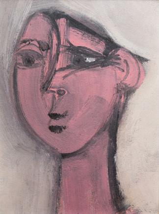 Grégoire Müller, Cubist Face, 1978
