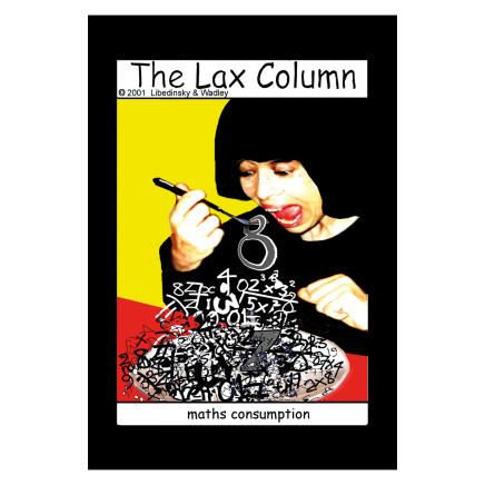 Sylvia Libedinsky, The Lax Column - maths consumption