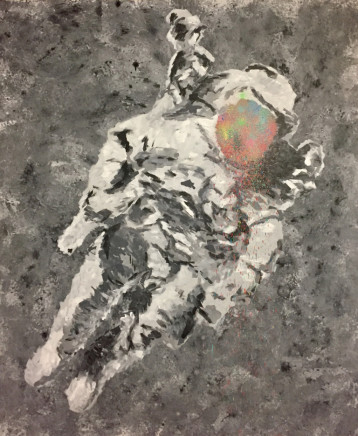 Humphrey Dettmer, Space Man, 2017