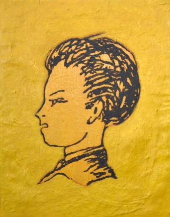 Herve Constant, Portrait of Arthur Rimbaud (Left)