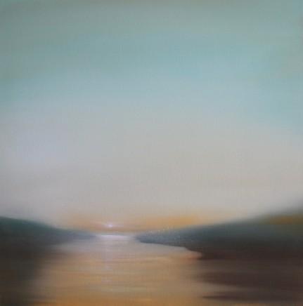 Jonathan Speed, Sunset over Marshland , 2018