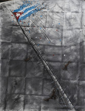 Michel Mirabel Martínez, Identidad, de la Serie Banderas - Identity, from the Flag Series, 2011