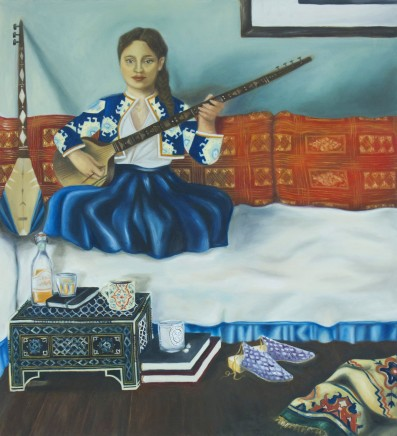 Yasmine Taherbeigi, Woman with Instrument, 2016