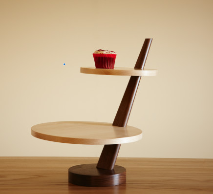 Irene Banham - Williams and Cleal: Furniture School, Cantilever Cake Stand