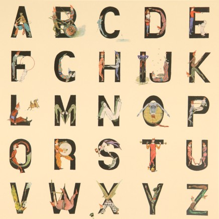 Sir Peter Blake, Appropriated Alphabet No 12., 2013