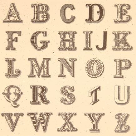 Sir Peter Blake, Appropriated Alphabet No.1, 2013