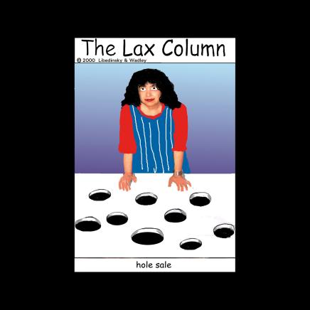 Sylvia Libedinsky, The Lax Column - hole sale