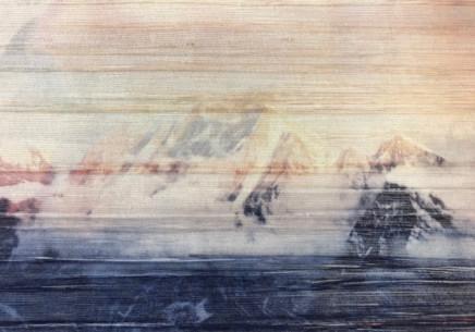 Eleonora Sher, Landscape and Memory, Dolomiti Series - Sunset, 2018
