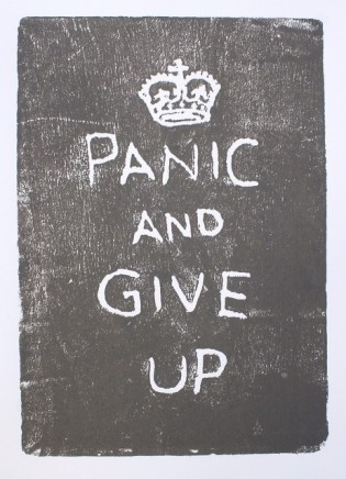 Martin Grover, Panic & Give Up