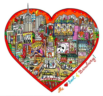 Charles Fazzino, The Heartbeat of Broadway