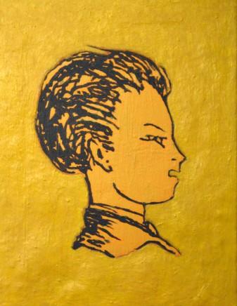 Hervé Constant, Portrait of Arthur Rimbaud (Right Side)