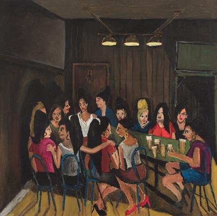 Ben Clarke, Traveller Women, Kings Cross beer hall, 2015
