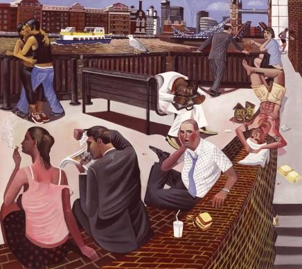 Ed Gray, King Henry Wharf, 2006